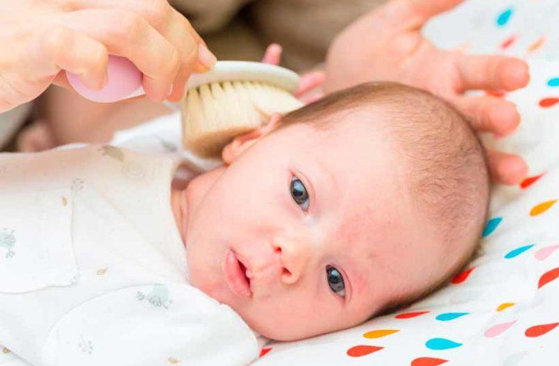 Cómo cuidar el cabello del bebé