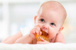 Orden de aparición de los dientes del bebé
