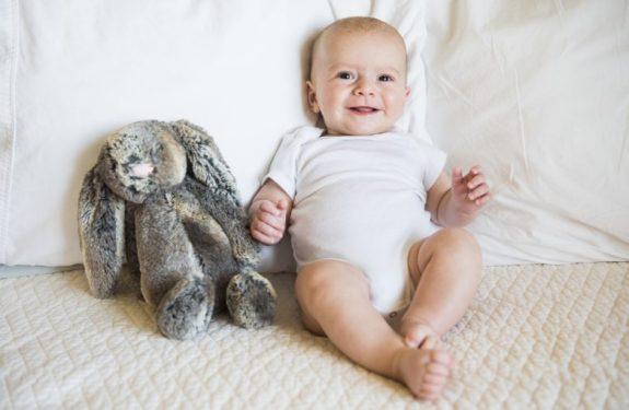 ¿Cuándo empiezan a sonreír los bebés?