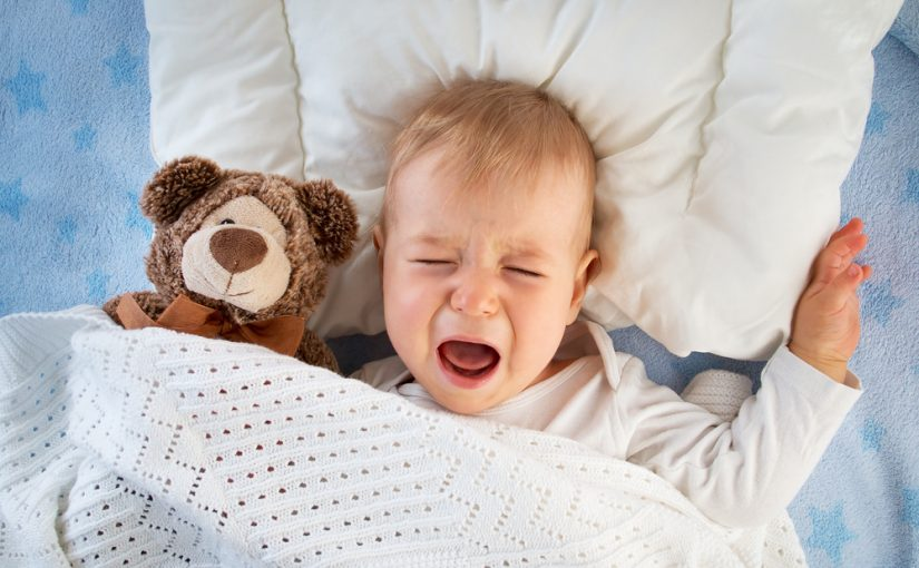 Posibles causas del llanto del bebé