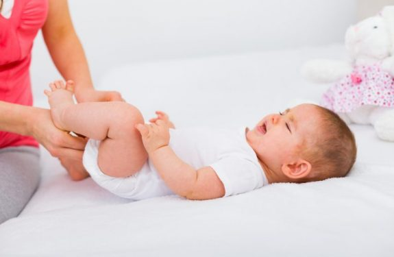 Causas de los cólicos del bebé