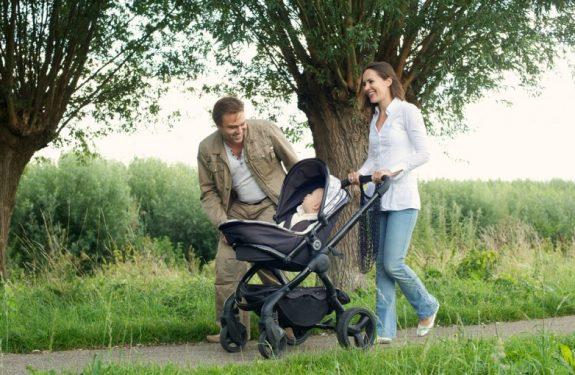 Recomendaciones para pasear al bebé