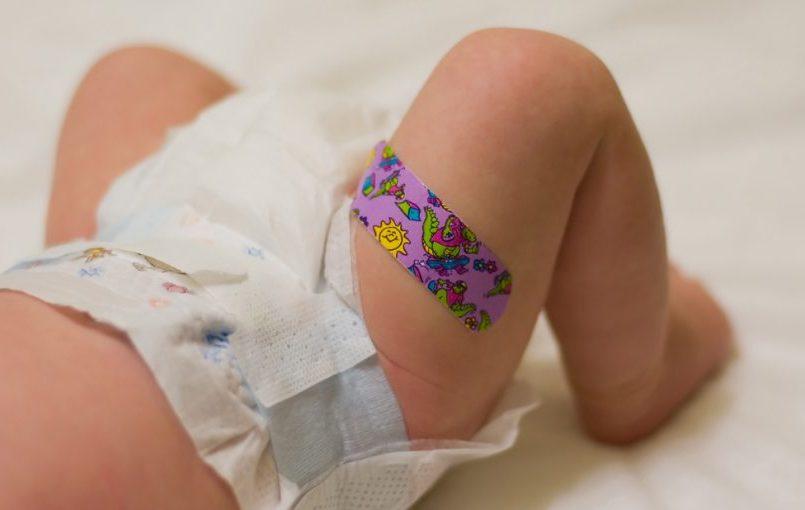 Consejos para curar heridas al bebé