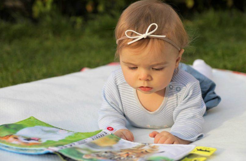 Fomenta la lectura en tus hijos desde bebés