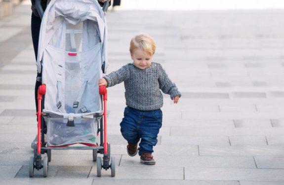 Consejos para pasear al bebé en invierno