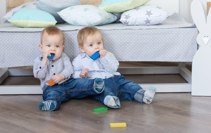 Accesorios para bebés gemelos