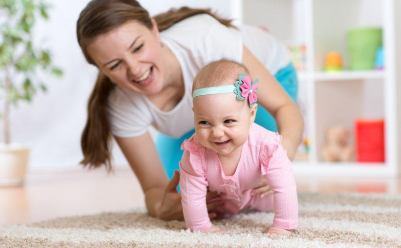 Ejercicios para desarrollar el gateo en el bebé