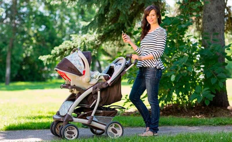 Mejor hora del día para pasear al bebé