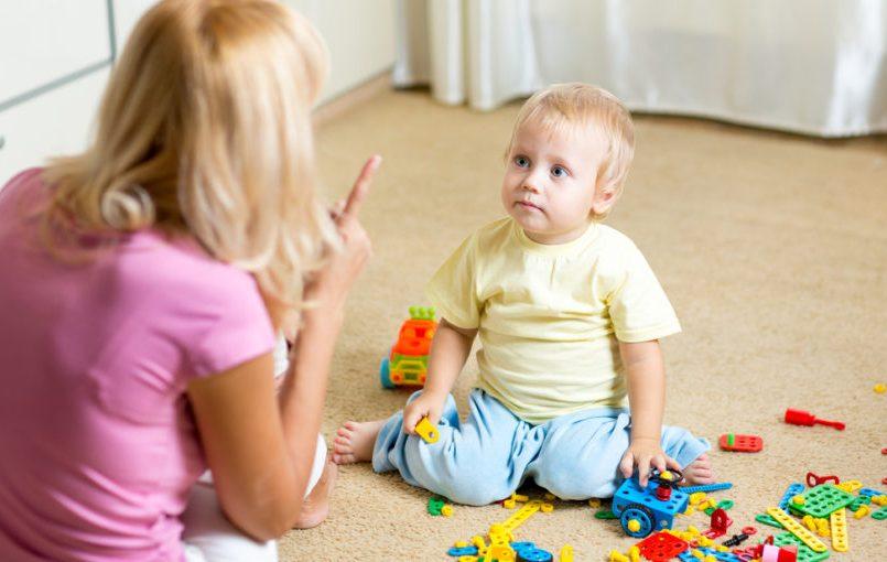 ¿Cuándo empezar a reñir al bebé?