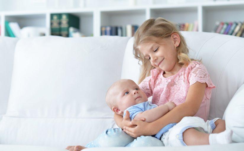 Tips Para Presentar El Nuevo Bebé Al Hermano Mayor