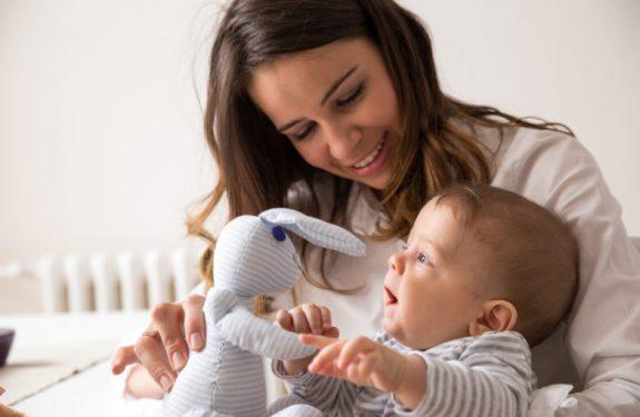 Cómo entretener al bebé