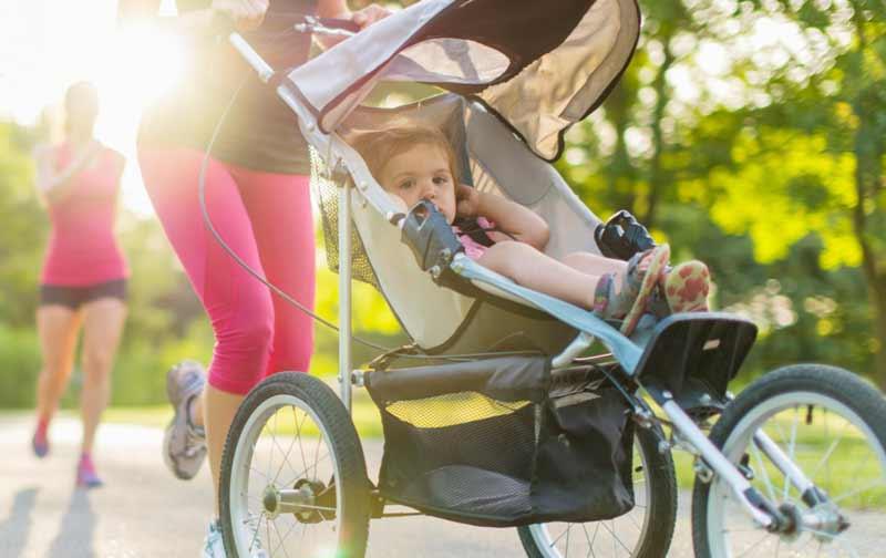 Guía básica para salir a correr con el bebé