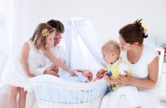 Preparar la visita un recién nacido