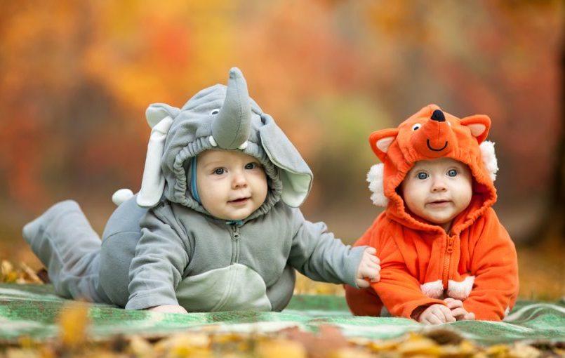Bebés disfrazados de animalitos