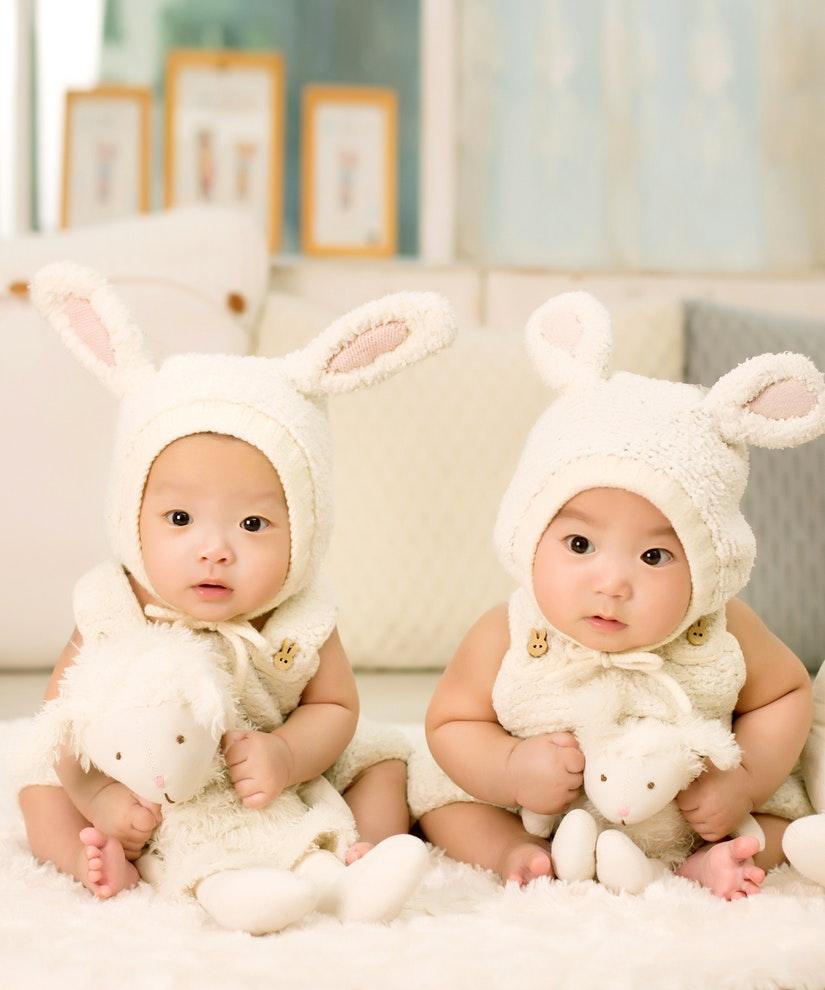 Disfraza a tu bebé de conejito