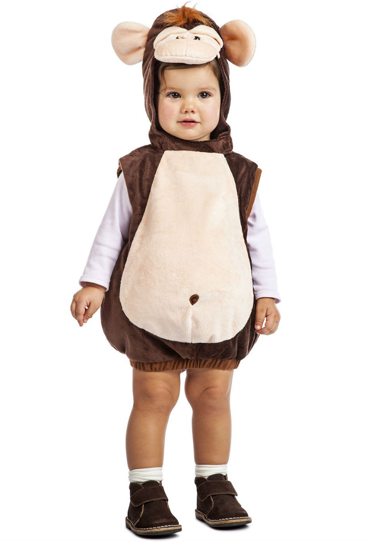Disfraza a tu bebé de monito travieso