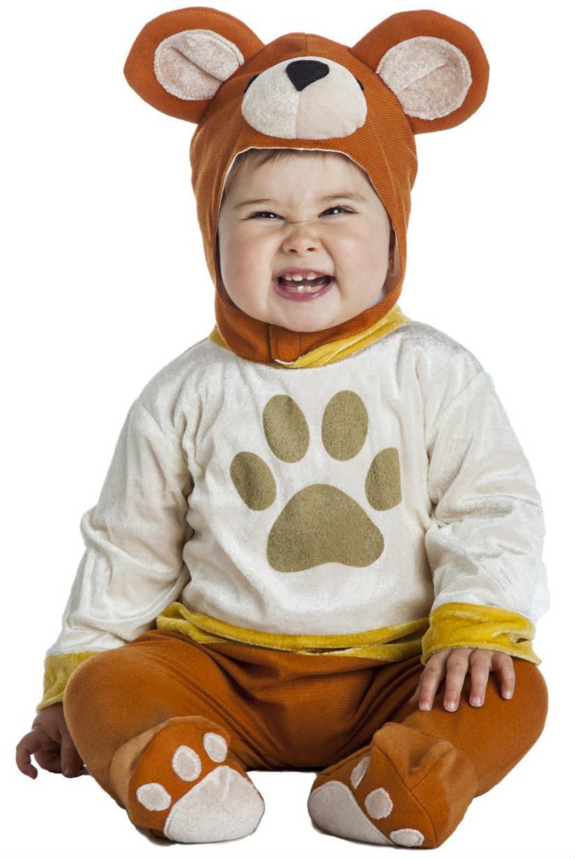 Disfraza a tu bebé de osito