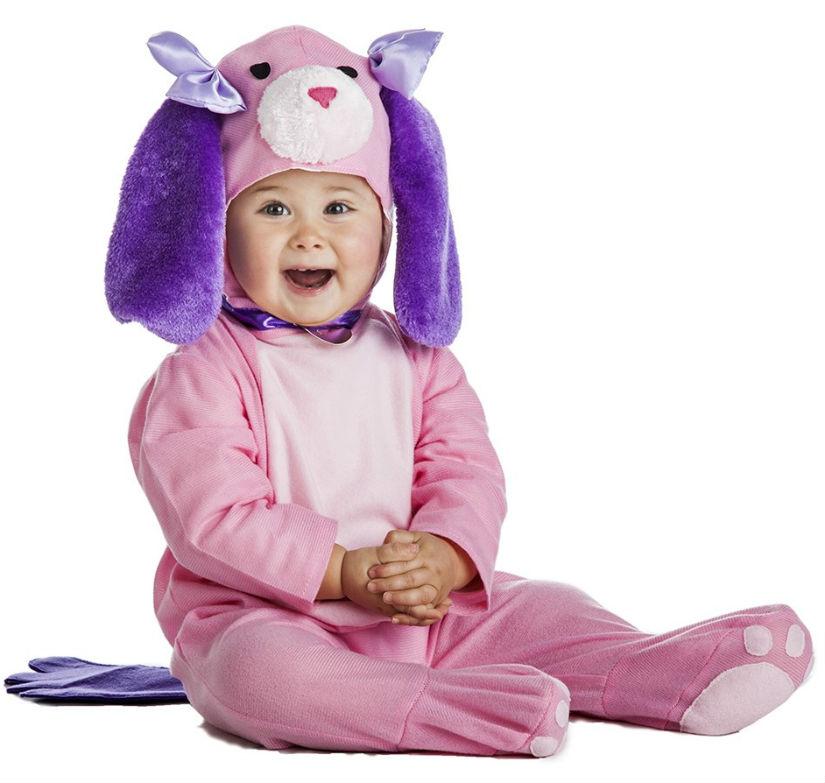 Disfraza de perrito a tu bebé