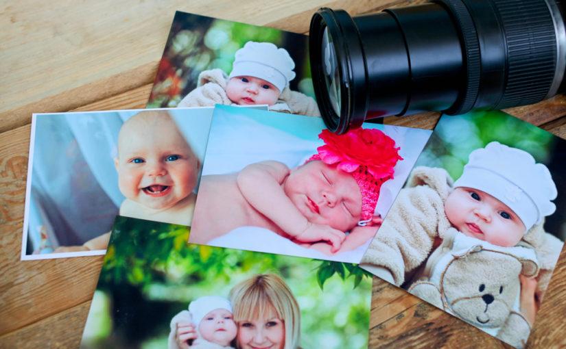 5 artículos ideales para recordar los primeros meses de vida del bebé