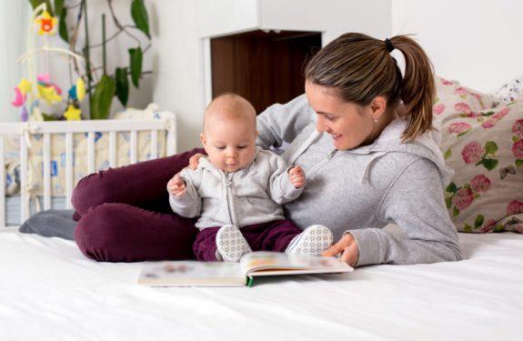 ¿A partir de qué edad puedo leer un cuento al bebé?