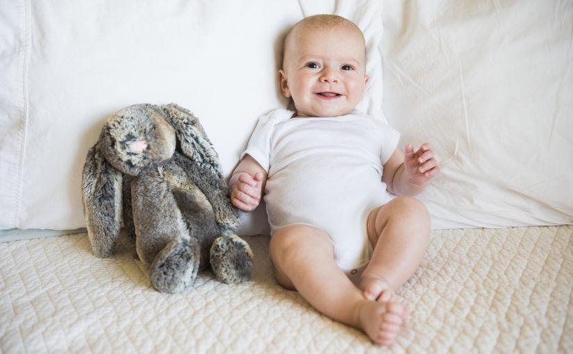 9 cosas que no sabías que hacen feliz al bebé