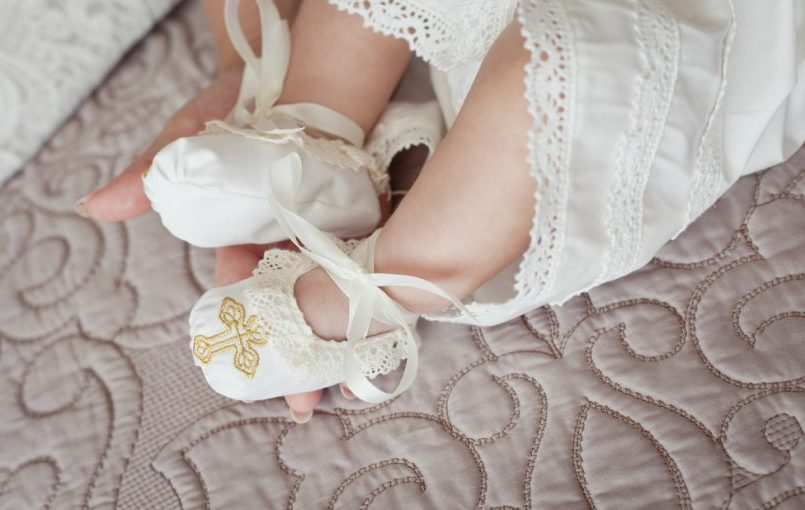 Ideas para vestir al bebé para el bautizo