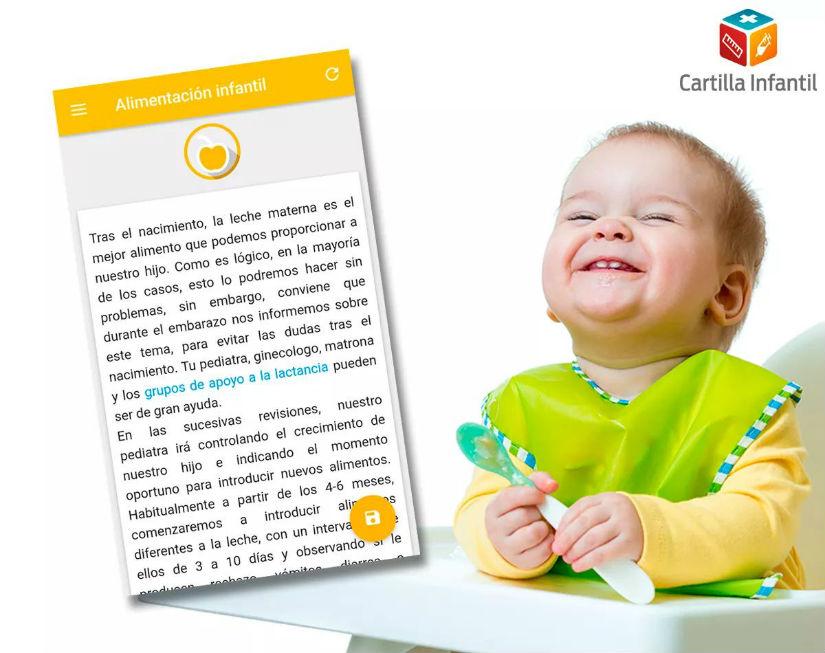Sigue la salud de tu hijo con la app Cartilla Infantil