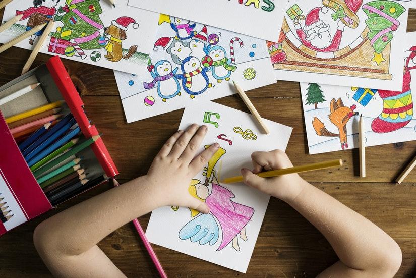 Beneficios de la escritura y el coloreado para los niños