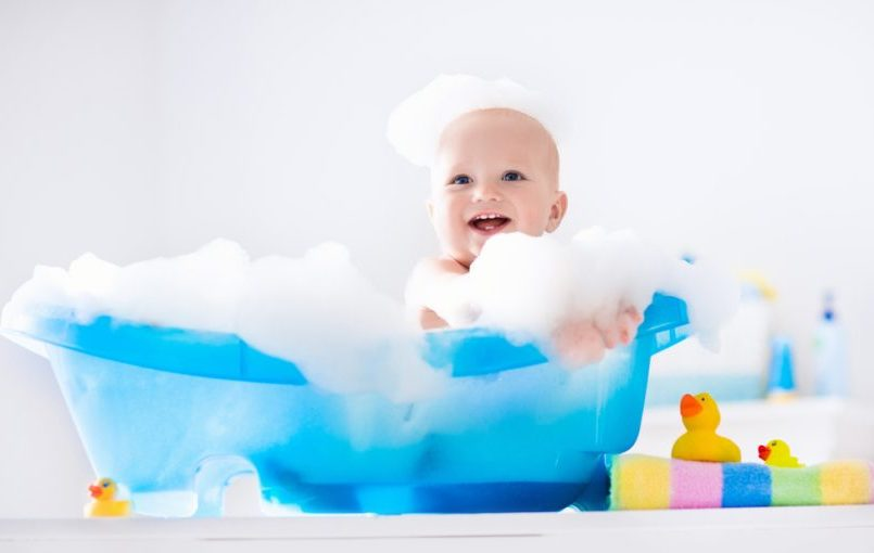 Elegir una bañera para el bebé